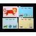 Набор карточек-пазлов Зверопутаница Собираем картинки, слоги, слова Робинс 978-5-43660-457-2