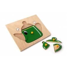 Деревянная игрушка Вкладыши Чайник ЛЭМ 1003