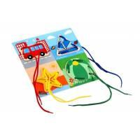 Деревянная игрушка Шнуровка Окружающий мир ЛЭМ 1030