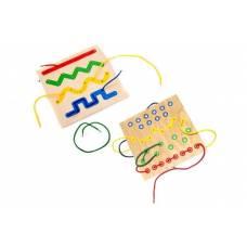 Деревянная игрушка Шнуровка Линии ЛЭМ 1032