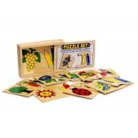 Деревянная игрушка Пазл Цветные карандаши ЛЭМ 1416