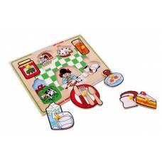 Деревянная игрушка Вкладыши Завтрак ЛЭМ 1423