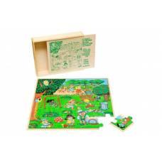 Деревянная игрушка Пазл Парк ЛЭМ 1432