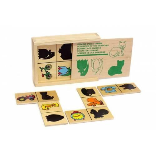 Деревянная игрушка Игра Домино Тени ЛЭМ 1502