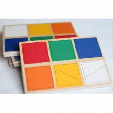 Пособие для обучения  Сложи квадрат 1й уровень ЛЭМ 1515-1