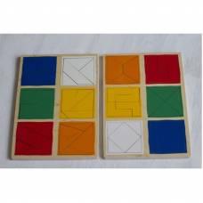 Пособие для обучения  Сложи квадрат 2й уровень ЛЭМ 1515-2