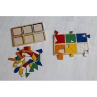 Пособие для обучения  Сложи квадрат 3й уровень ЛЭМ 1515-3