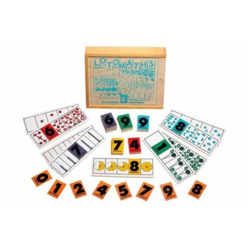 Пособие для обучения  Домино математика ЛЭМ 5005