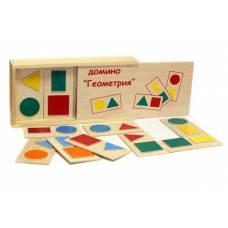 Пособие для обучения  Домино Геометрия ЛЭМ 5009
