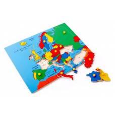 Пособие для обучения  Карта Европы ЛЭМ 5013