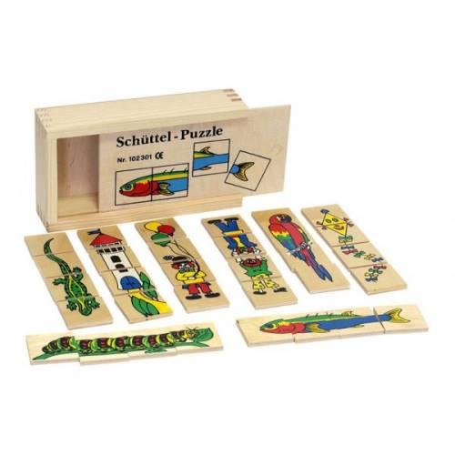 Деревянная игрушка Пазлы Составь картинку ЛЭМ 5030