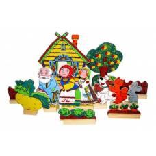 Деревянная игрушка  Театр Репка ЛЭМ 5031