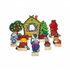 Деревянная игрушка  Театр Колобок ЛЭМ 5033