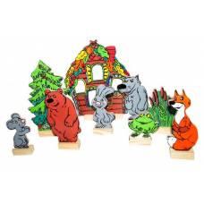 Деревянная игрушка  Театр Теремок ЛЭМ 5035