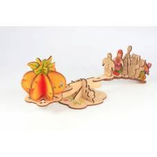 Деревянная игрушка Игровой набор-сказка Репка WOODY В00129