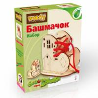 Деревянная игрушка Сказочные домики-шкатулочки. Башмачок WOODY В00679