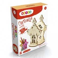 Деревянная игрушка Сказочные домики-шкатулочки. Светлица WOODY В00686