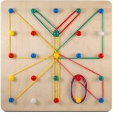 Деревянная игрушка Математический планшет СВЕНА МП-013-1