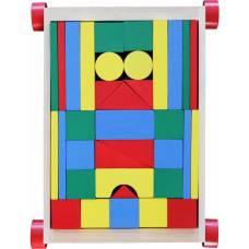 Деревянная игрушка Конструктор Архитектор KOMAROVTOYS А 352