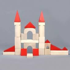 Деревянная игрушка Конструктор Строитель Юниор KOMAROVTOYS А 317