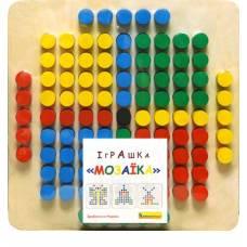 Деревянная игрушка Мозаика 101 деталь Komarovtoys А 343
