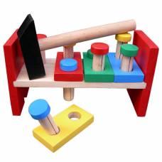 Деревянная игрушка Стучалка с планками Komarovtoys А 315