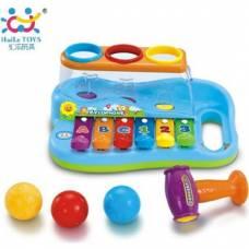 Музыкальная игрушка Развивающий ксилофон HuiLe Toys 856