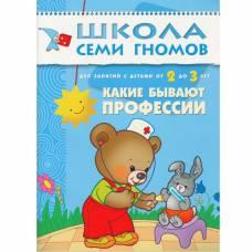 Книга Школа семи гномов 2-3 года Какие бывают профессии Мозаика-синтез 9785867751982