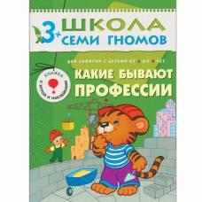 Книга Школа семи гномов 3-4 года Какие бывают профессии Мозаика-синтез 9785867752132