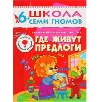 Книга Школа семи гномов 6-7 лет Где живут предлоги Мозаика-синтез 9785867752309