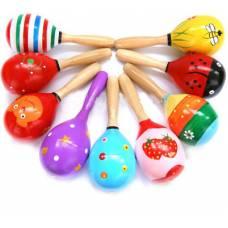 Деревянная игрушка Маракас маленький Wooden Toys 0029