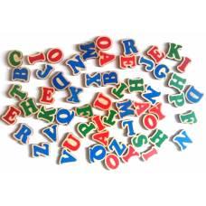 Деревянная игрушка Набор Английский алфавит на магнитах Komarovtoys J 707