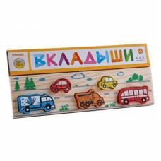 Деревянная игрушка Рамка-вкладыш Транспорт ТОМИК 362
