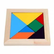 Деревянная игрушка Мозаика Танграм Komarovtoys А 367