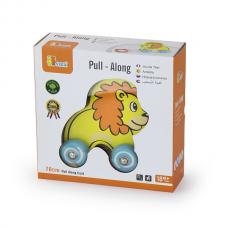 Деревянная игрушка  Игрушка-каталка Viga Toys Лев 50090