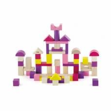 Деревянная игрушка  Набор строительных блоков Город 60 шт. Viga Toys 50332