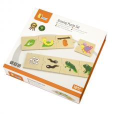 Деревянная игрушка  Набор пазлов Трансформация  Viga Toys 51609