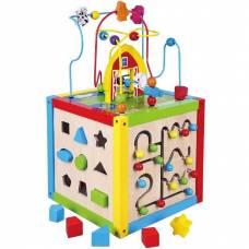 Деревянная игрушка  Занимательный кубик Viga Toys 58506