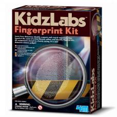 Набор для творчества 4M Набор детектива Отпечатки пальцев 00-03248