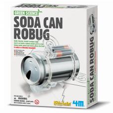Набор для творчества 4M Робот-жук из жестянки 00-03266