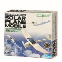 Набор для творчества 4M Самолет на солнечной батарее 00-03376