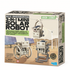 Набор для творчества 4M Робот на солнечной батарее 3-в-1 00-03377