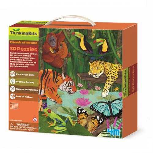 3D-пазл 4M Тропический лес 00-04678