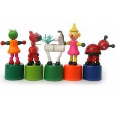 Деревянная игрушка Дергунчик 002