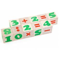 Деревянная игрушка Кубики Цифры ТОМИК 1111-3