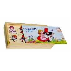 Деревянная игрушка Игра Найди пару: Добрый разбойник Румцайс BINO 13177