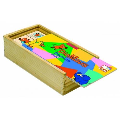 Деревянная игрушка Домино Мышка BINO 13500