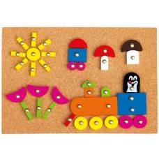 Деревянная игрушка Игра с молоточком Кротик BINO 13737