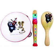 Деревянная игрушка Набор музыкальных инструментов Кротик BINO 13754