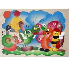 Деревянная игрушка Мозаика Муха-Цокотуха КРОНА 143-036